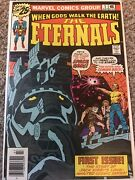 Eternals 1 Nm Marvel 1976 Origin And 1st Appearance Of The Eternals