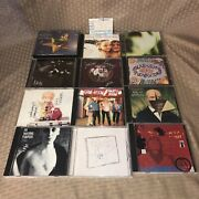 Smashing Pumpkins Cd Lot Of 12+ Concert Ticket Siamese,gish,pisces,adore, Lull