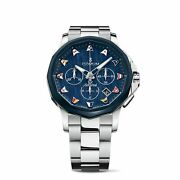 Corum A984-04212 Menand039s Admiraland039s Cup Blue Automatic Watch