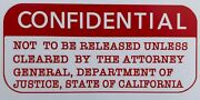 1973 Dept. Of Justice Confidential Report On The Hells Angels