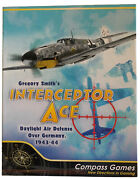 New Interceptor Ace Air Defense Over Germany 1943-44 Compass Games. Unpunched.