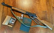 Vintage Mcm Daisy Bb Gun With Box Of '89 Bbs And '46 Fred Harman Red Ryder Book