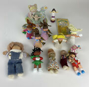 Lot Of 13 Vintage Mcdonalds Happy Meal Toys Cabbage Patch Kids W/stamp/music