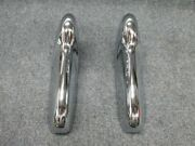 Pair Of 1955 1956 Ford Front Rear Bumper Guards Fresh Chrome