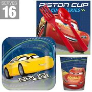Disney Cars Party Supplies Snack Pack For 16 Guests