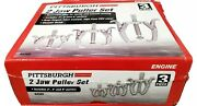 Pittsburgh 2 Jaw Puller Set Includes 3 4 6pullers
