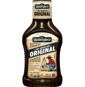 917970 1 X 510g Bottle Kc Masterpiece Kettle Cooked Original Barbecue Bbq Sauce