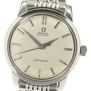 Omega Seamaster 14764-sc-61 Cal.552 Antique Automatic Mens Watch Pre Owned U0528