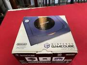 Nintendo Game Cube Blue New Never Used