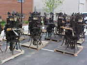Sock Knitting Machine Vintage Williams And Scott Inc Antique 100 Years Plus Old