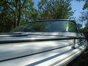 Formula F-223 Boat Complete Windshield Front Port And Starboard Side. W/ Braces