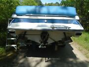 Formula F-223 Boat Transom Platform, With Exhaust Outlets.