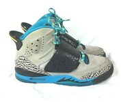 Nike Air Jordan Son Of Mars Duck Dodgers Youth Shoes Size 5.5y 512246-007