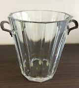 Baccarat Harmonie French Crystal Champagne / Ice Bucket Signed.