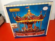 Lemax Carousel New In Box. Great For Train Town Display