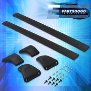 For 17-21 Mazda Cx-5 Aluminum Roof Rack Rail Crossbar Top Cargo Luggage Carrier