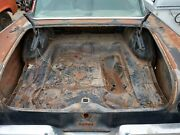 1957 Ford Fairlane 500 Trunk Floor And Spair Tire Saddle
