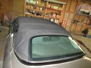 2005 Mercedes Clk320 Convertible Soft Roof Top Fabric And Links Black Oem