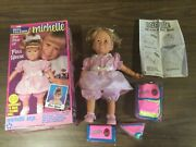 """1991 Full House """"michelle"""" A Talking Michelle Doll Unused Complete In Box"""