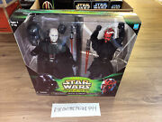 2000 Star Wars Power Of The Jedi Sith Lords Darth Vader And Maul Figures 7751