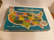 United States Milton Bradley 4806 Puzzle 1975 Issued 20 X 14 Complete