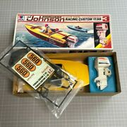 Mitsuwa Johnson Racing Custom 17.ss Toy Model Kits Boat With 175 Outboard Motor