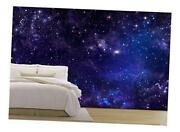 - Starry Night Sky Deep Outer Space - Removable Wall 100x144 Artwork - 03