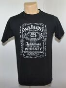 Vtg 80s Jack Daniels Whiskey Spellout Alcohol Party T Shirt Mens M Made In Usa