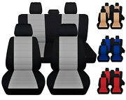 Front And Rear Car Seat Covers Fits Suzuki Forenza 2004-2008 Choice Of 5 Colors
