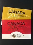 2014 And 2015 Royal Canadian Mint Uncirculated Coin Sets - Enn Coins