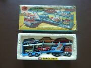 Corgi Toys Rare Gift Set No41 Ford Transporter And 6x Cars Diecast Vintage Boxed