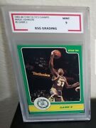 Magic Johnson Rookie Rare Star Playoff In Action Bsg 9 Lakers Nba Legend Hof