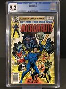 Micronauts 1 Cgc 9.2 White 1979 1st App Baron Karza And Bug White Pages Rc