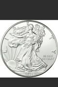 2021 T-1 American Silver Eagle 1 1oz Bullion Coin Picked From Us Mint Rolls