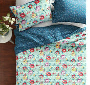 The Pioneer Woman Sweet Romance 3pc Quilt Set King Polyester Velvet Fabric New