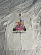 1997 Walt Disney World That Was Then This Is Now T-shirt Castle Size Xl