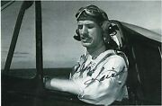 Deandiz Laird Us Navy Ace Shot Down Planes In Eto And Pacific Rare Signed Photo