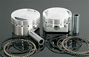 Wiseco Vt Piston Kit Andndash Forged Light Weight W/ Rings And Pins Vt1757 Made In Usa