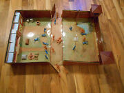 Old Vintage 1968 Marx Carry All Action Fort Apache Play Set 4685 Suitcase Toy