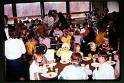 Halloween Party At School In Geneseo New York In1974, Kodachrome Slide Aa 12-30a