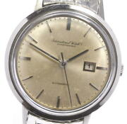 Schaffhausen Antique Date Automatic Stainless Silver Dial Menand039s Watch U0530