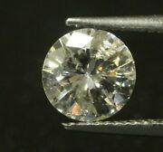 0.90 Ct M / Si2 Grade 6 Mm Round Cut Loose Gia Certified Natural Diamond