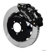 Wilwood Fnsl6r Front Hat Kit13.06 1999-2012 For Subaru Wrx W/lines