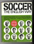 Soccer The English Way England 1966 World Cup Winning Players Signed Book Scarce