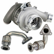For Ford F350 F450 F550 Super Duty 6.7l Powerstroke Turbo W/ Charge Pipe Kit Gap