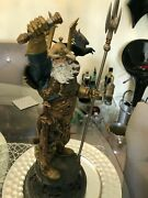 Odin Bowen Designs Statue Marvel Mcu Norse God Used Comic Book Thor 819 Of 1500