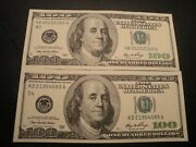 2 100.00 Series 2006 And 2006-a Federal Reserve Note Bu Uncirculated Condition