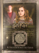 Harry Potter Emma Watson As Hermione Granger Costume Card Variant Rare Ootp