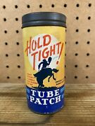Vintage Hold Tight Tube Repair Patch Kit - Gas And Oil