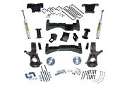 Superlift 14-18 Chevy Silv 4wd W/ Alum/stamped Steel Control Arms 8in Lift Kit